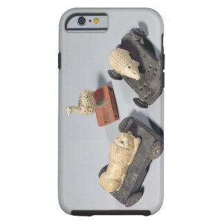 Children's toys: a hedgehog, a lion and a dove, Su Tough iPhone 6 Case