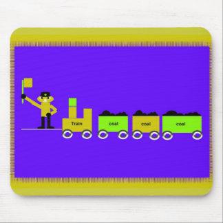 Childrens Train  Mousepad