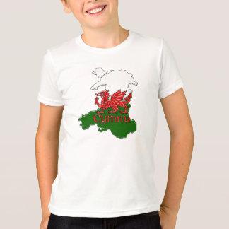 Childrens Welsh Dragon TShirt Wales Cymru