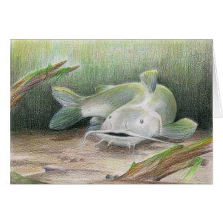 Children's Winning Artwork: channel catfish Greeting Card