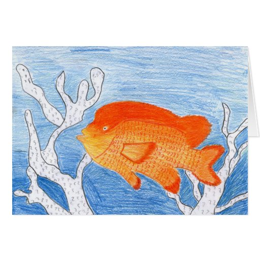 Children's Winning Artwork: garibaldi Greeting Card