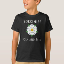 Childrens Yorkshire Born and Bred Dark Tee