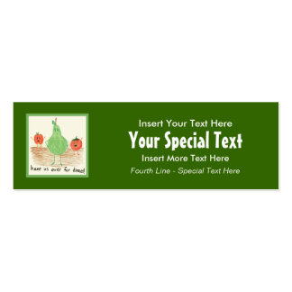 Child's Art, Green Pack Of Skinny Business Cards