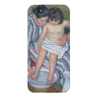 Child's bath, 1893 (oil on canvas) iPhone 5 case