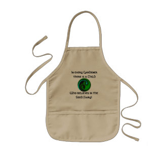 Child's Celtic Seedling Apron