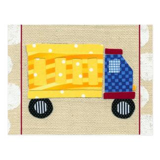 Child's Dump Truck by Chariklia Zarris Postcard