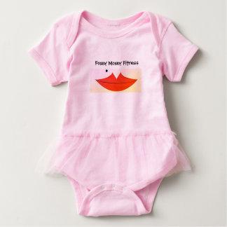 Child's Foxey Moxey Tutu Baby Bodysuit