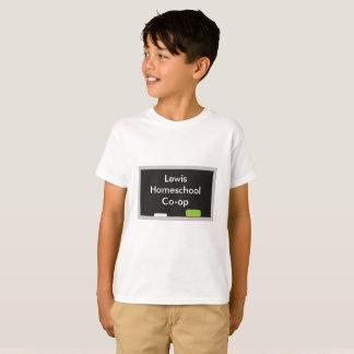 Child's Home school Co-Op Chalkboard T-Shirt