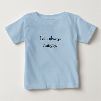 Childs ''im always hungry'' t-shirt