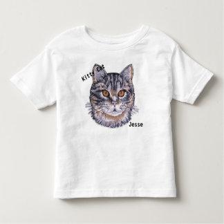 Cat name t shirts shirt designs zazzle uk child39s kitty cat t shirt kids your name kitten urtaz Gallery