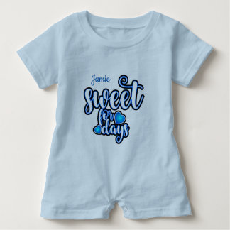 (Child's Name) Sweet For Days Baby Bodysuit