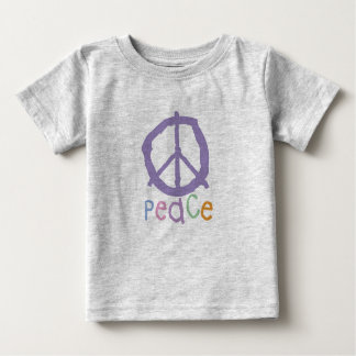 Child's Peace Sign Baby T-Shirt