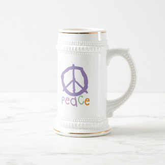 Child's Peace Sign Beer Steins