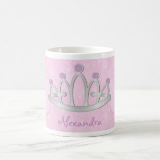 Child's Personalized Pink Princess Mug