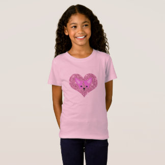 Child's Pink Chihuahua T Shirt