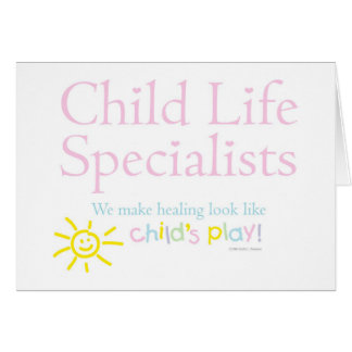 """Child's Play"" Notecards Card"