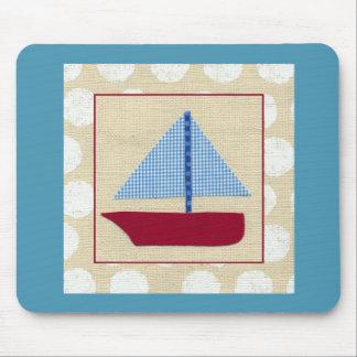 Child's Sailboat by Chariklia Zarris Mousepad