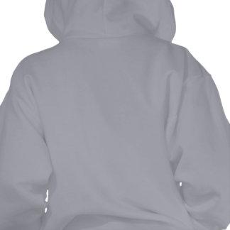 Child's Tournament Hoodie, Logo&Daruma, Grey Hooded Pullovers