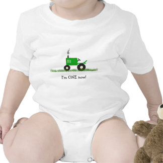 Child's Tractor T-Shirt: Customize Age