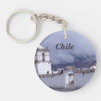 Chile Acrylic Keychain