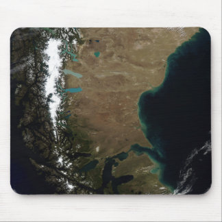 Chile and the Patagonian region of Argentina Mouse Pad