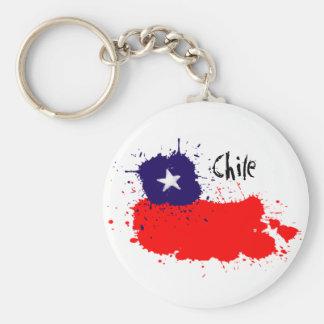 Chile artsy keychain