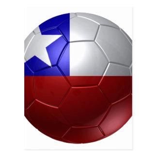 Chile ball postcard