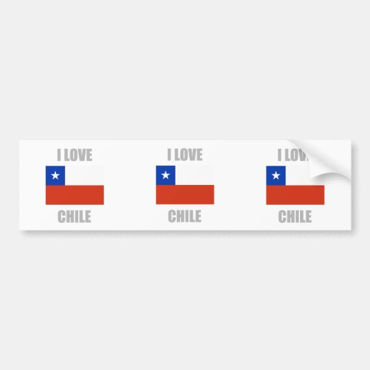 Chile Bumper Sticker