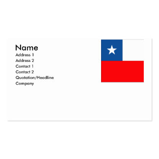 Chile Business Cards