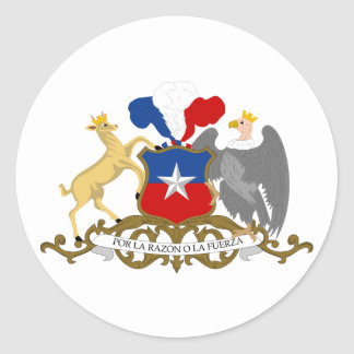 Chile, Chile Classic Round Sticker