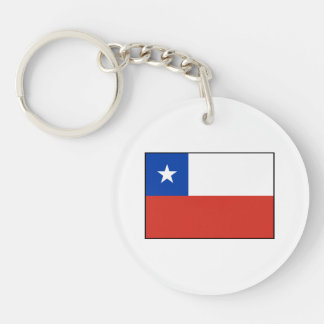 Chile – Chilean Flag Acrylic Keychains