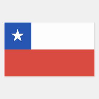 Chile/Chilean Flag Rectangular Sticker