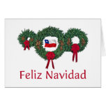 Chile Christmas 2 Cards