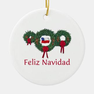 Chile Christmas 2 Christmas Ornament