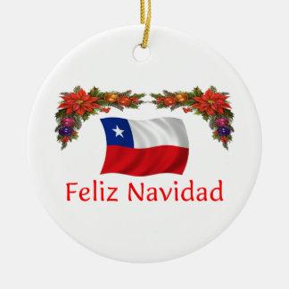 Chile Christmas Christmas Ornament