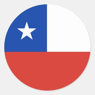CHILE CLASSIC ROUND STICKER