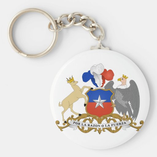 Chile Coat of arms CL Keychain