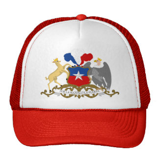 Chile Coat of Arms detail Cap