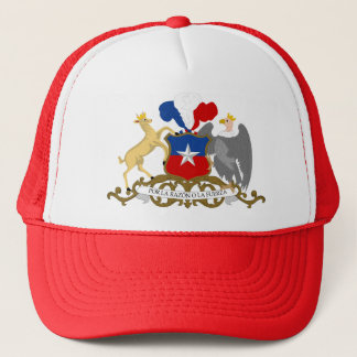 Chile Coat of Arms detail Trucker Hat