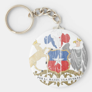 Chile Coat Of Arms Keychains
