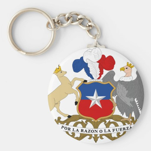 Chile Coat Of Arms Key Chains
