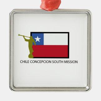 Chile Concepcion South Mission LDS CTR Christmas Ornament