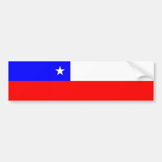 chile country flag nation symbol bumper sticker
