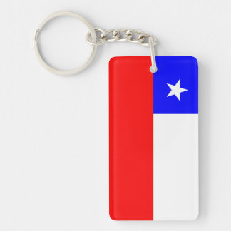 chile country flag nation symbol key ring