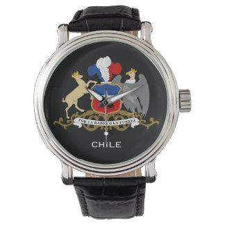Chile* Custom Watch  Reloj personalizado de Chile