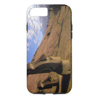 Chile, Easter Island. Hillside with Moai iPhone 8/7 Case