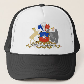chile emblem trucker hat