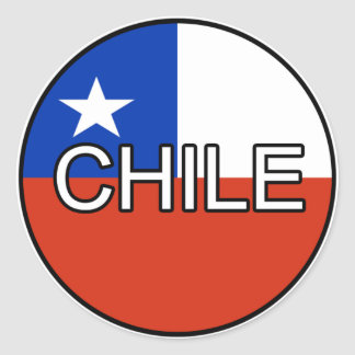 Chile Euro Sticker