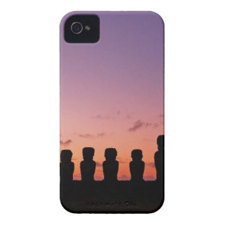 Chile Figures In The Sunset iPhone 4 Case-Mate Case