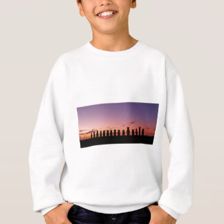 Chile Figures In The Sunset Sweatshirt